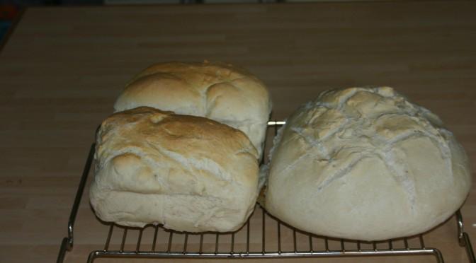 Versgebakken melkbrood