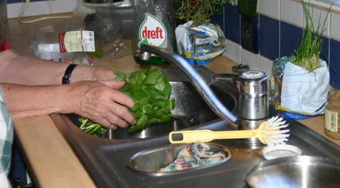 Waterkerssoep met asperges